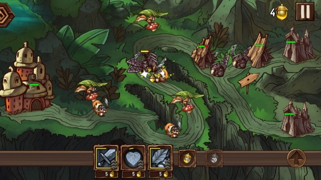 Help The Squirrels Reclaim Their Domain From The Beavers In Tree Wars