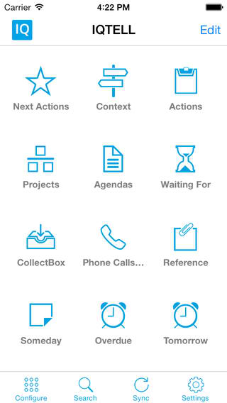 Intelligent GTD App IQTELL Updated With iOS 7 Design Refresh And More Features