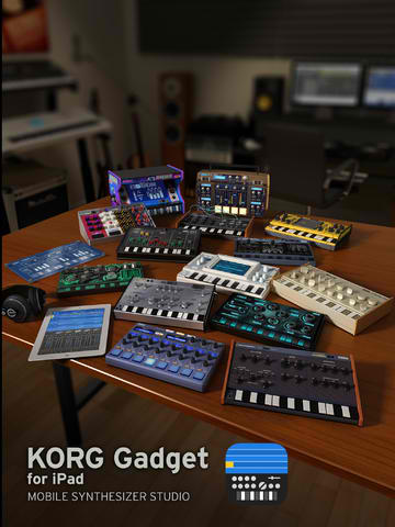 Korg Gadget Turns Your iPad Into An All-In One Mobile Music Production Studio