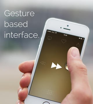 Now Listen: This Gesture-Based Music Player App For iOS Just Got Even Better