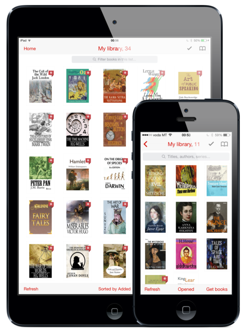 Popular E-Reading App Marvin Updated With New Library Cover View And More