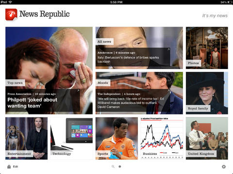 News Republic 4.0 Features New Design, New 'One Feed' View And More