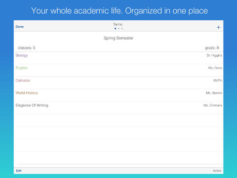 Outstanding Student Planner App Omni Study Updated With Custom Grade Marks And More