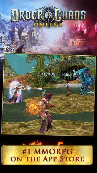Gameloft Updates Order & Chaos Online With New High-Level Dungeons And More