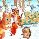 Join Pato And His Friends In A Snowball Fight Against The Hares In This New iOS Game