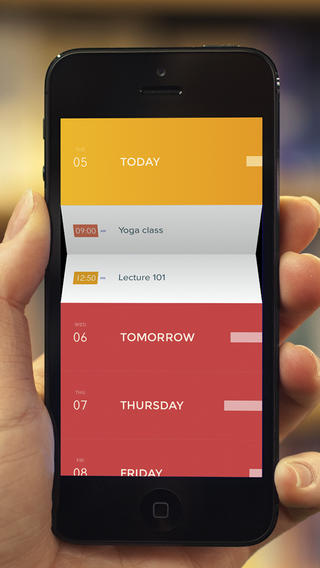 See Your Calendar At A Glance With Peek's Clear-Like Gesture-Based Interface