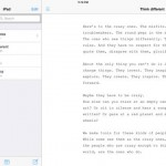 Popular iOS Writing App Relaunched As PlainText 2 Under New Management