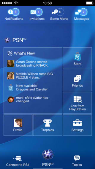 PlayStation App Updated With Live From PlayStation Integration And More