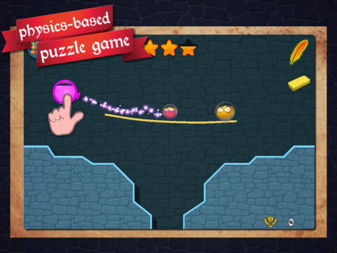Pop Bubbles To Save The Little Minas In This New Physics-Based Puzzle Game