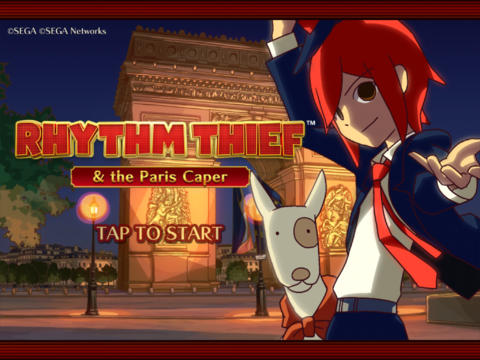 Sega's Rhythm Thief & The Paris Caper Dances Its Way Back To The App Store