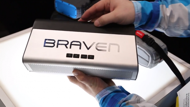 CES: Check Out Braven's Brand New Bluetooth Speakers For 2014