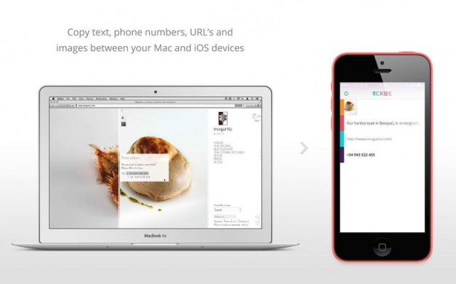 Scribe Lets You Share Your Clipboard Between Mac And iOS Via Bluetooth LE