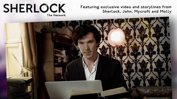 The Game's Afoot! Slide To Unlock Sherlock: The Network, Now Available In US App Store