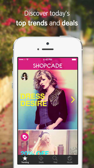 Shopcade Fashion Shopping App Updated With Deal And Friend Alerts