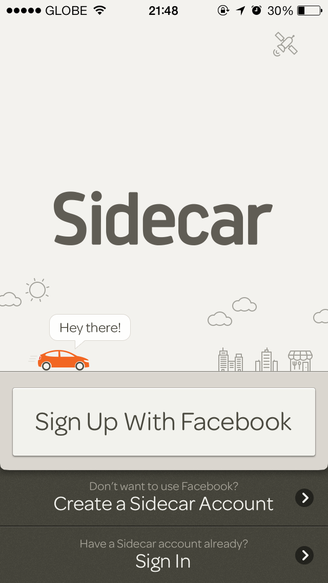 Popular Ride-Sharing App Sidecar Picks Up New iOS 7 Design And More In 3.0 Update
