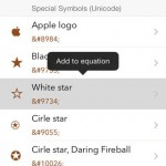 Simbol Is A Simple App For Quickly Finding And Copying Special Symbols On iOS