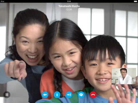 Skype Now Supports HD Video Calls On iPhone 5s, iPad Air And Retina iPad mini