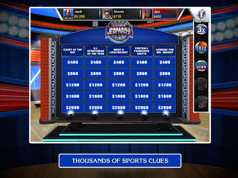 I'll Take Sports Jeopardy! For A Dollar In The App Store, Alex!