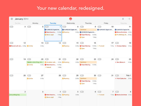 Sunrise Calendar Moves Up With iPad Support, New Week View And Background Updates