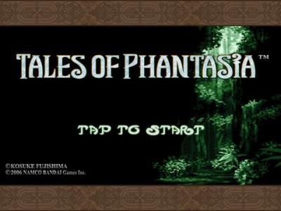 Namco Bandai Unfolds English Language Version Of Tales Of Phantasia For iOS