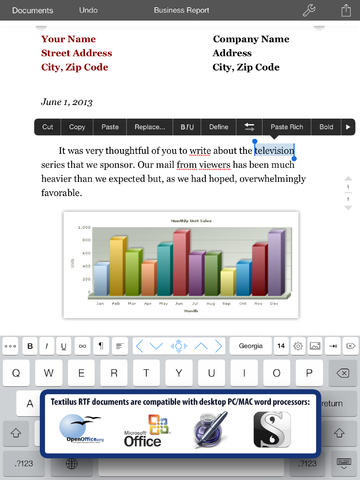 Textilus 3.0 Features iOS 7 Redesign, RTF Annotation Support And More