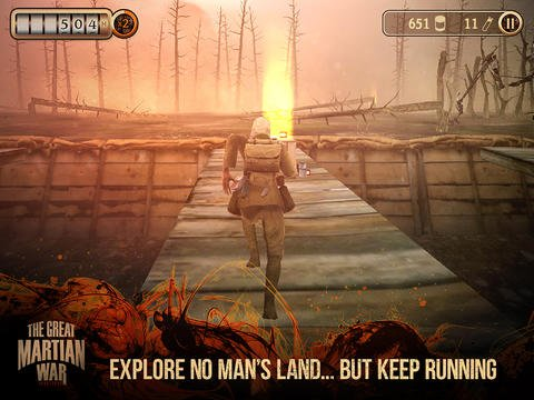 Run To Survive The War Of The Worlds In The Great Martian War