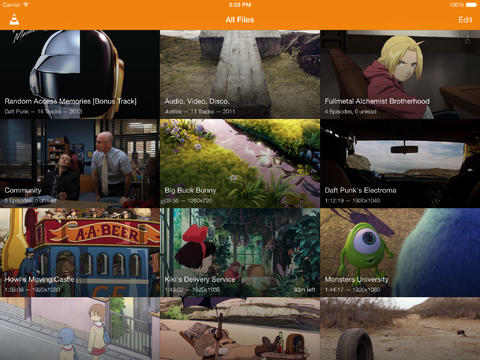 VLC App Updated With iOS 7 Redesign, Google Drive Integration And More Features