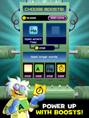 Help Power Dr. Von Vocab's Mad Experiments All In The Name Of Word Science