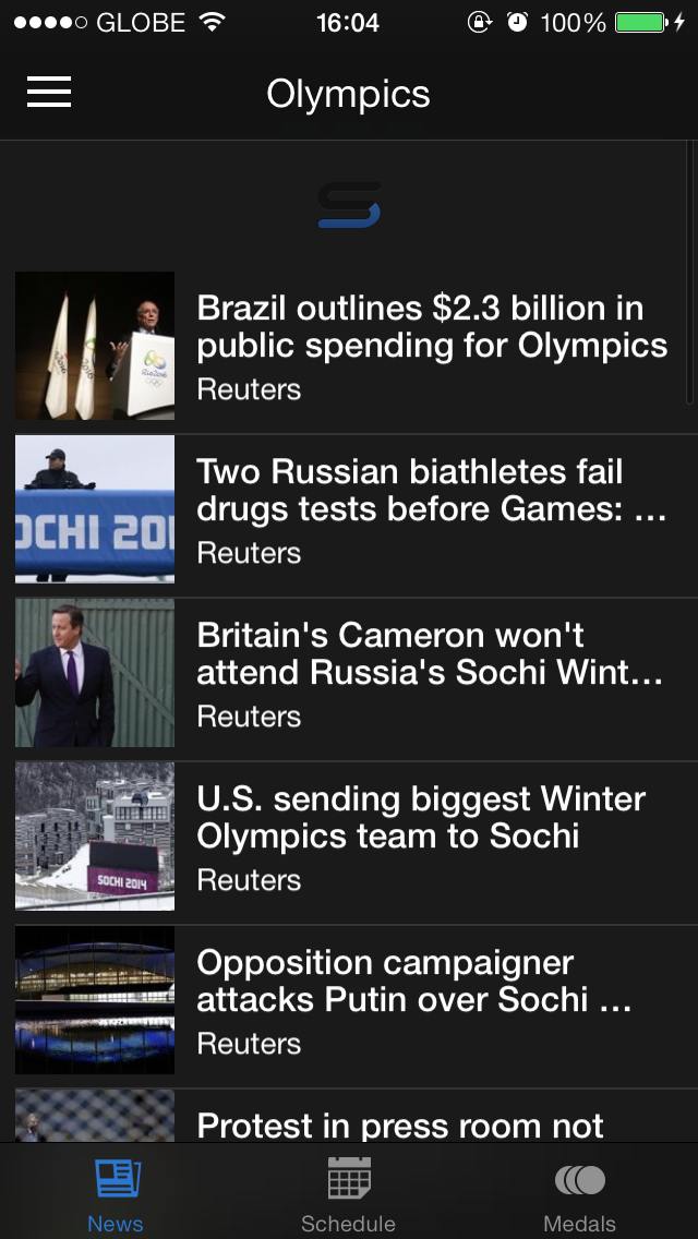 Yahoo Sports For iOS Is All Set For The 2014 Winter Olympics In Sochi, Russia