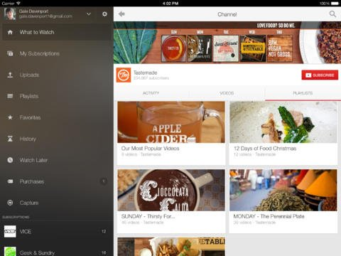 Google Finally Updates Official YouTube App With iOS 7 Keyboard Support