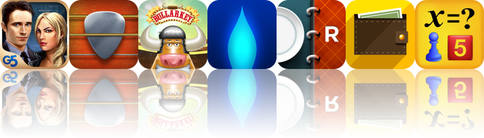 Today's Apps Gone Free: Special Enquiry Detail, Real Guitar, Bullarkey And More
