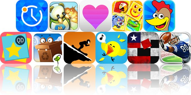 Today's Apps Gone Free: Alarmy, RoboMouse, Love Time And More