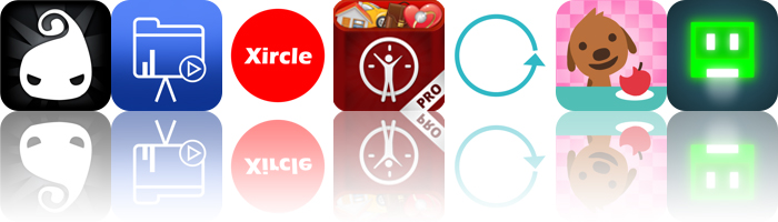 Today's Apps Gone Free: Darklings, WiPoint, Xircle And More