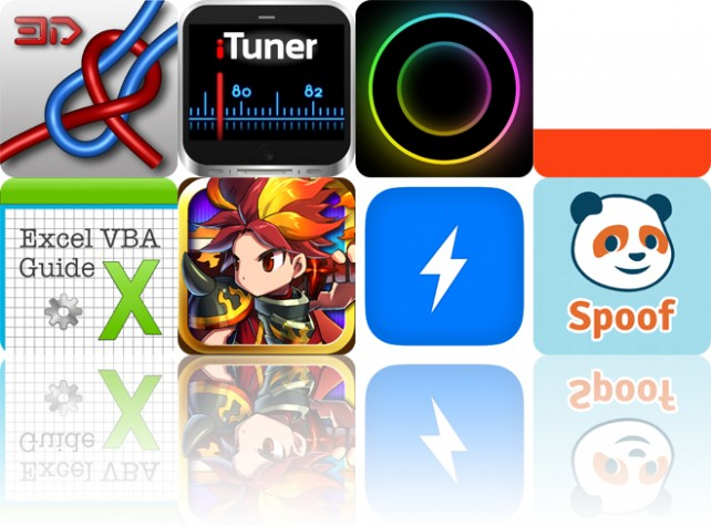 Today's Apps Gone Free: Knots 3D, iTuner Radio, Roadee Music And More