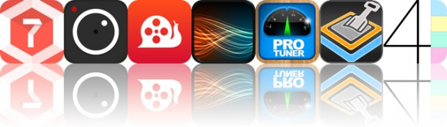 Today's Apps Gone Free: 7 Minute Workouts, ProCam XL 2, SlowCam And More