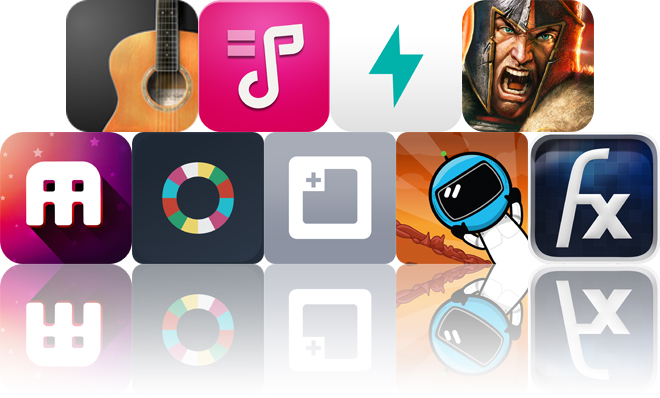 Today's Apps Gone Free: Guitarism, Tunable, Prompts And More