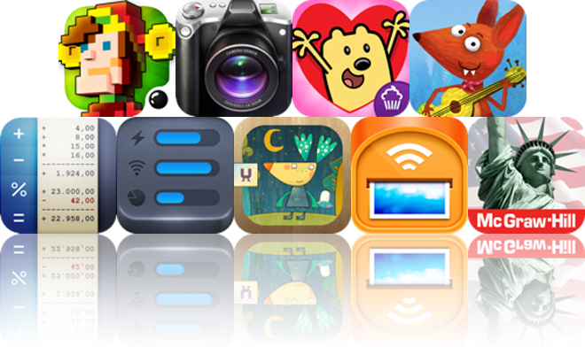 Today's Apps Gone Free: Space Qube, Camera Genius, Wubbzy Loves You And More