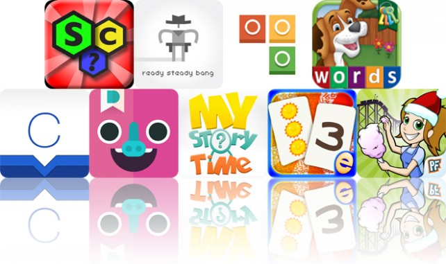 Today's Apps Gone Free: Spell Collapse, Ready Steady Bang, BlockCam And More