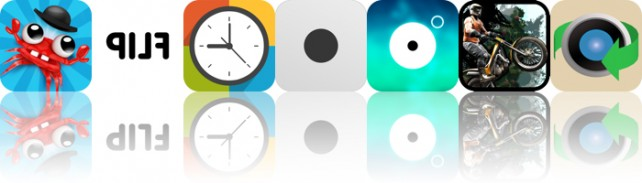Today's Apps Gone Free: Mr. Crab, Flip, Timegg Pro And More