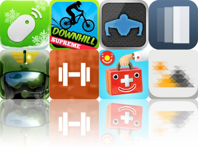 Today's Apps Gone Free: Remote Mouse, Downhill Supreme, Pushups Trainer HD And More