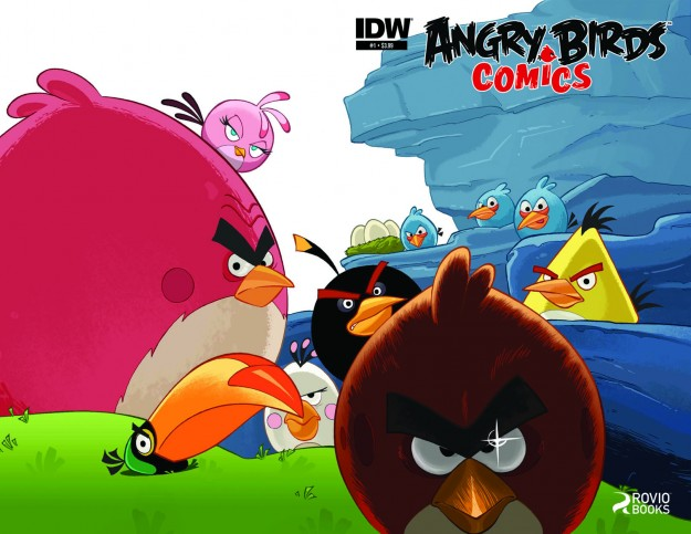 IDW Publishing To Launch Angry Birds Comics Later This Year
