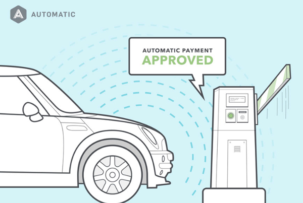 The Automatic Smart Car Device Adds iBeacon Functionality