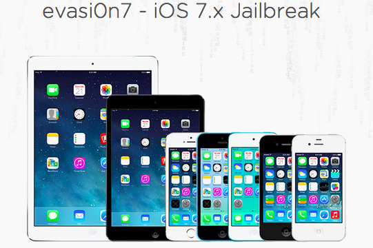 Evasi0n7 Updated With iPad mini Reboot Loop Fix, iOS 7.1 Beta 3 Support And More