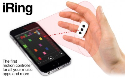 CES: Get Into The Groove With The IK Multimedia iRing Motion-Based MIDI Controller