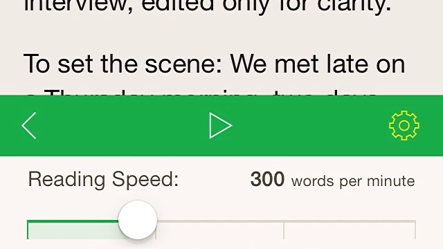 Your Normal Reading Speed Is About To Be Outdone With Outread
