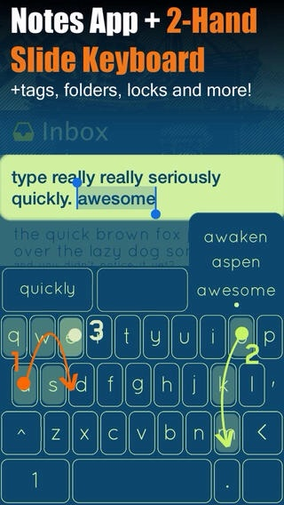 Hipjot Creator Planning System-Wide Swype-Style Keyboard For iOS