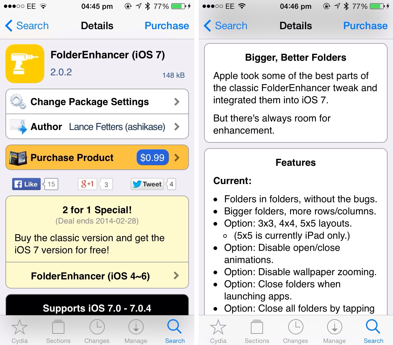 Cydia Tweak: Give Your iOS 7 App Folders A Boost With FolderEnhancer