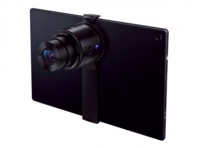 Sony To Launch SPA-TA1 Clip-On Camera Adapter For Tablets: iPadography Is Alive