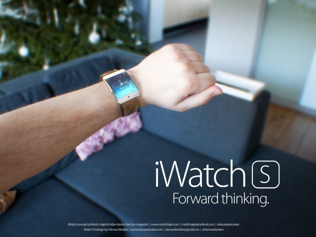 Say Hello To Apple's 'iWatch S' And 'iWatch C'