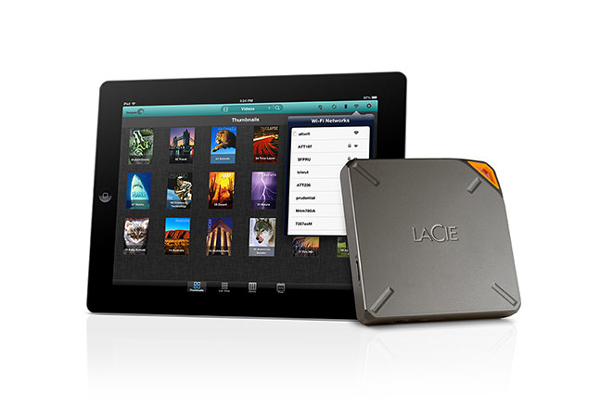 LaCie's Fuel Hard Drive Brings 1TB Of Storage To The Mac And iOS Devices